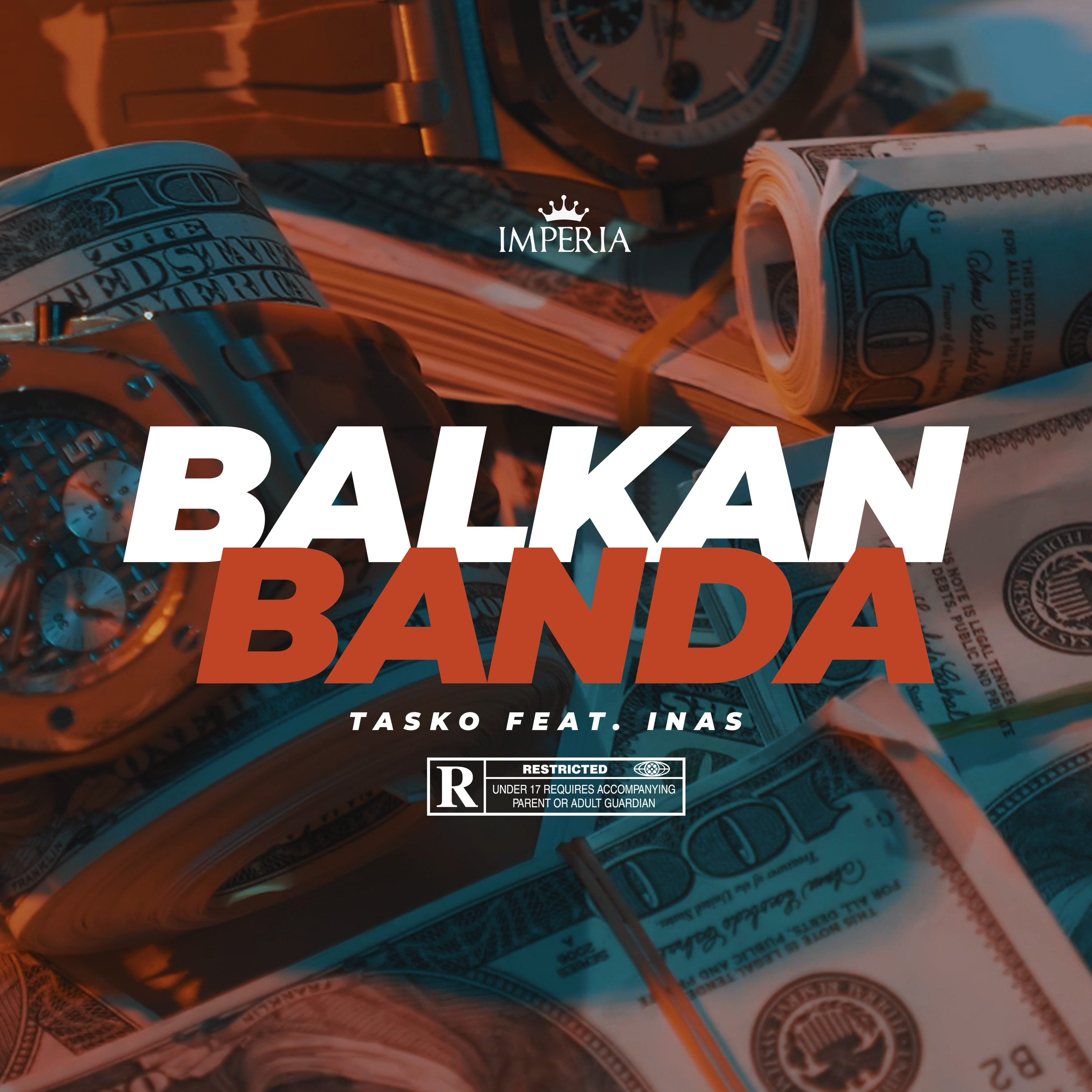 Tasko feat. INAS - Balkan Banda - Listen on Spotify, Deezer, YouTube, Google Play Music and Buy on Amazon, iTunes Google Play | EMDC Network