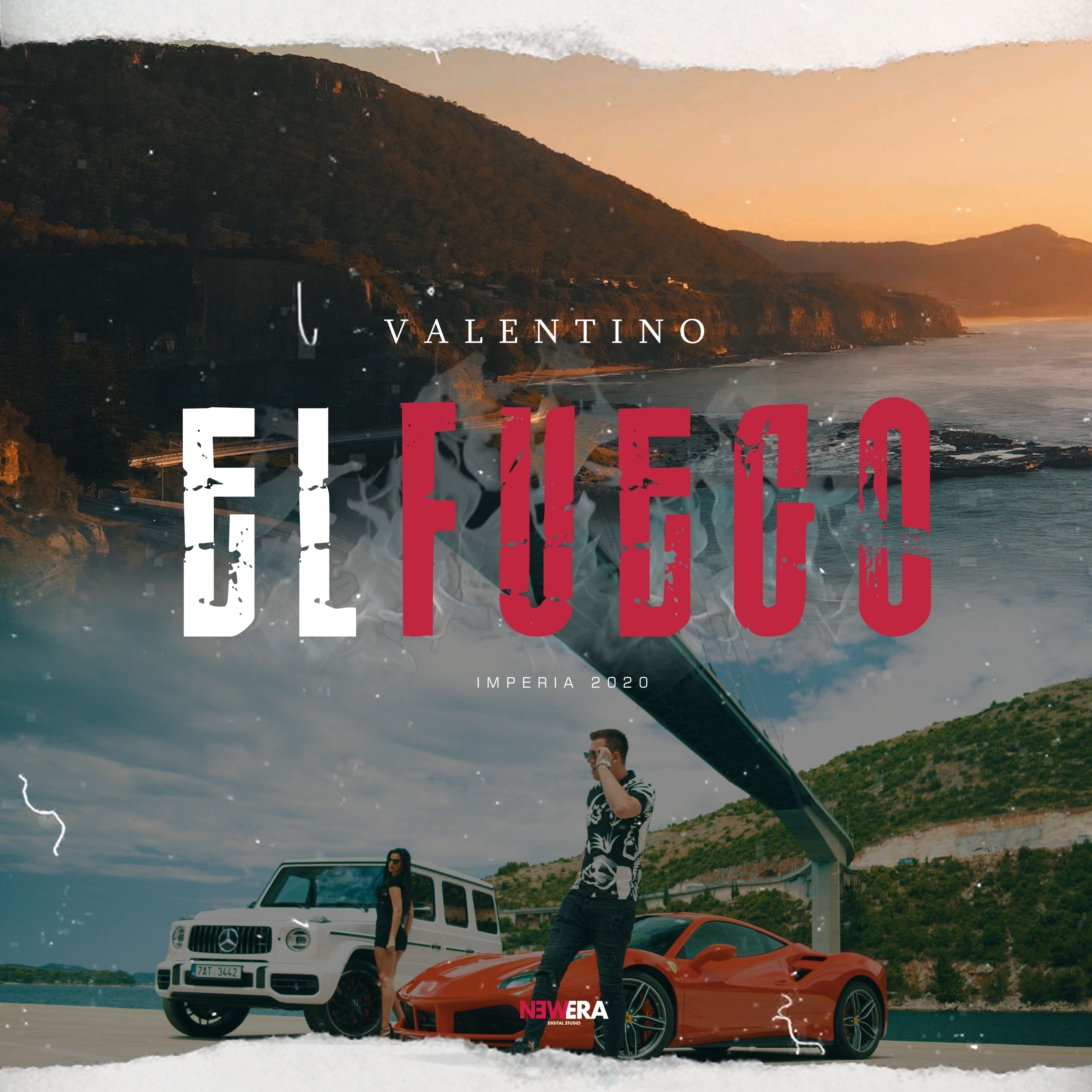 Valentino Perutina - El Fuego - Listen on Spotify, Deezer, YouTube, Google Play Music and Buy on Amazon, iTunes Google Play | EMDC Network